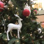 Displayco Calgary Christmas Tree with Deer Decor