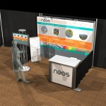 OneFab 10x10 Booth - rendering neos