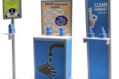 Hand Sanitation Stands
