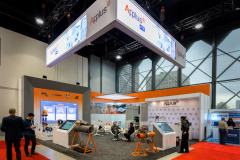 Custom Tradeshow Exhibit - APPLUS at IPE 2018