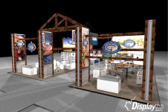 Custom Tradeshow Exhibit - Cooke, True North at Seafood Expo